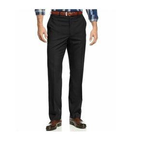 Michael Kors Mens Flat Front Straight Leg Dress 32